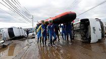 Badai Hagibis, Produsen Jepang Puasa Buat Mobil Sepekan Lebih