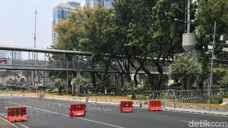Lalin Menuju DPR dan Istana Merdeka Ditutup, Begini Rekayasanya