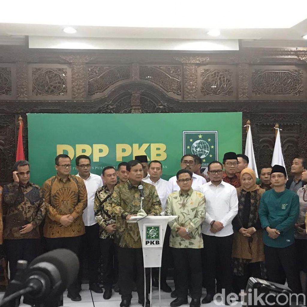 Dapat Sinyal Gabung Koalisi, Prabowo: Hak Prerogratif Presiden