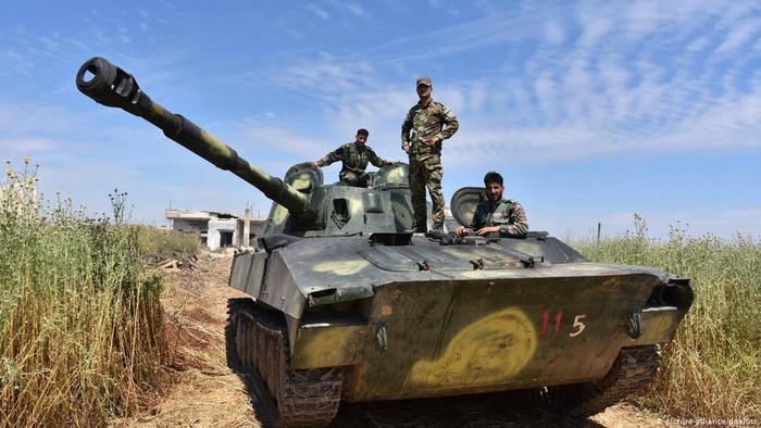 Hadapi Serangan Turki, Suriah Kerahkan Pasukan ke Utara