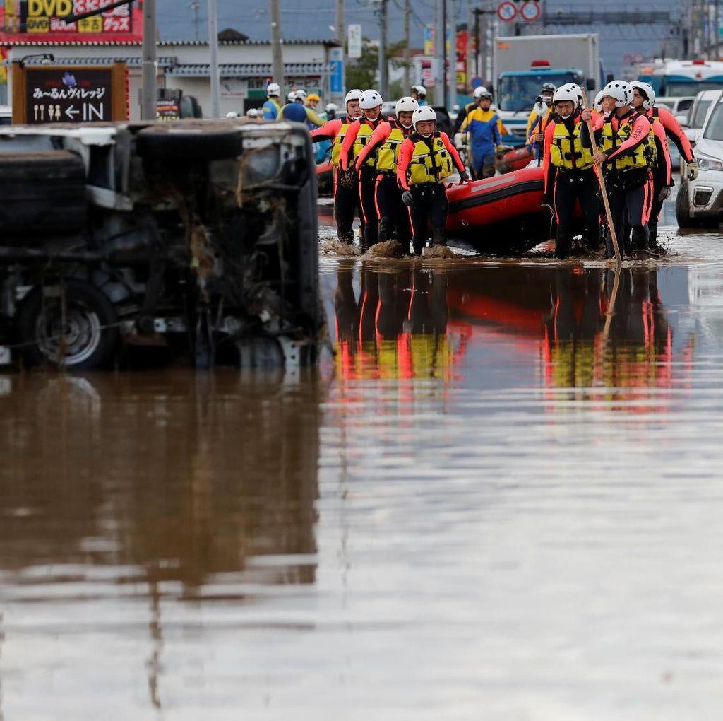 Korban Tewas Topan Hagibis di Jepang Jadi 35 Orang, 20 Lainnya Hilang