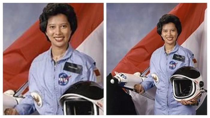 Pratiwi Sudarmono, calon astronaut kebanggaan Indonesia. Foto: Internet