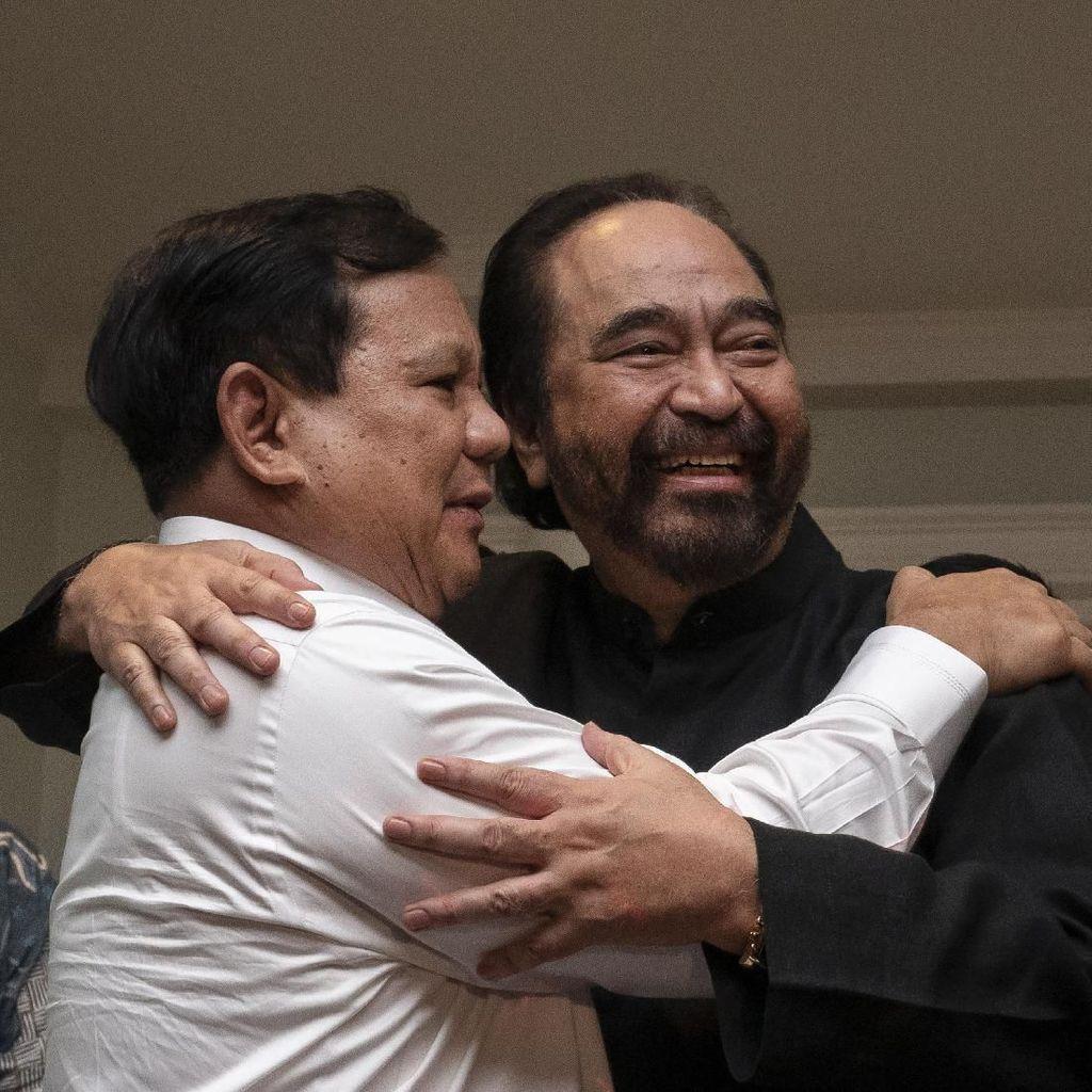 Gerindra Ungkap Maksud Prabowo Temui Ketum Partai Koalisi Jokowi