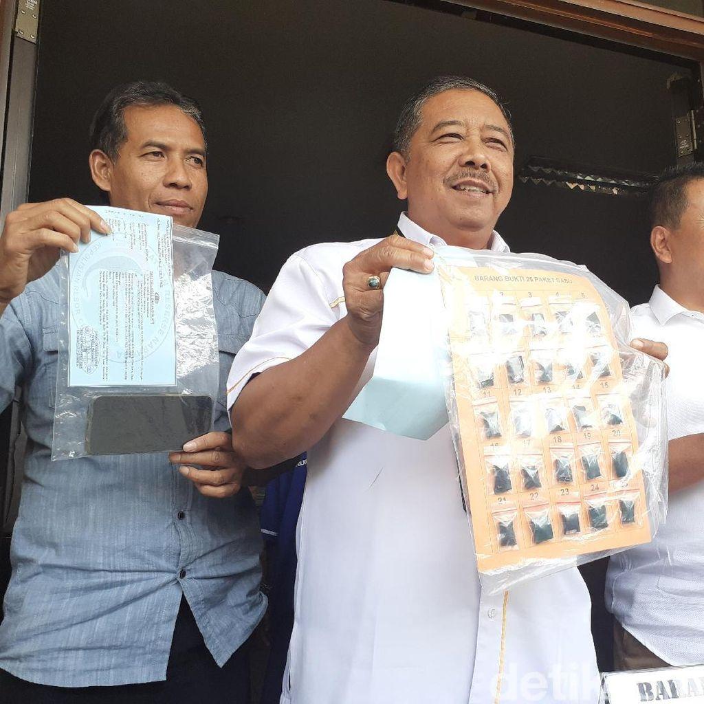 Edarkan 25 Paket Sabu di Pedesaan, Dukun DIciduk Polisi Cimahi