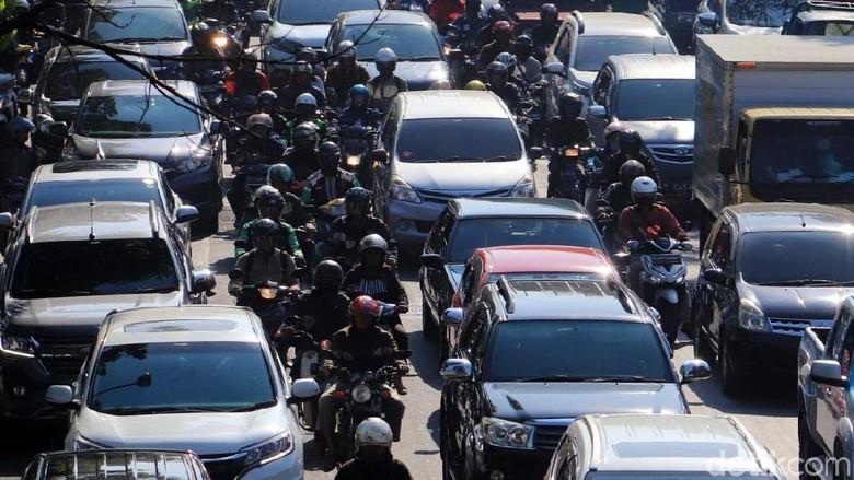 Ilustrasi kemacetan Foto: Rico Bagus