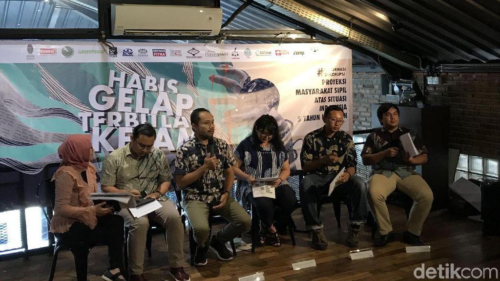ICW Bicara PR Besar Periode 2 Jokowi: Singgung Nawacita hingga UU KPK Baru