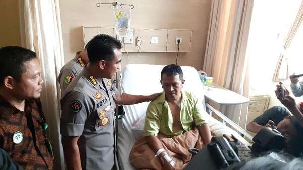 Kapolsek Menes Korban Penusukan Istri Penyerang Wiranto Dibolehkan Pulang