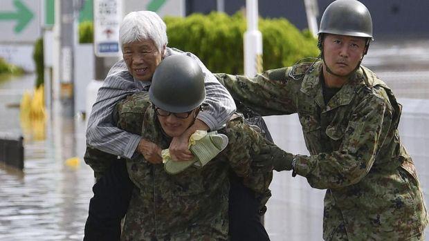 58 Orang Tewas Karena Topan Hagibis di Jepan