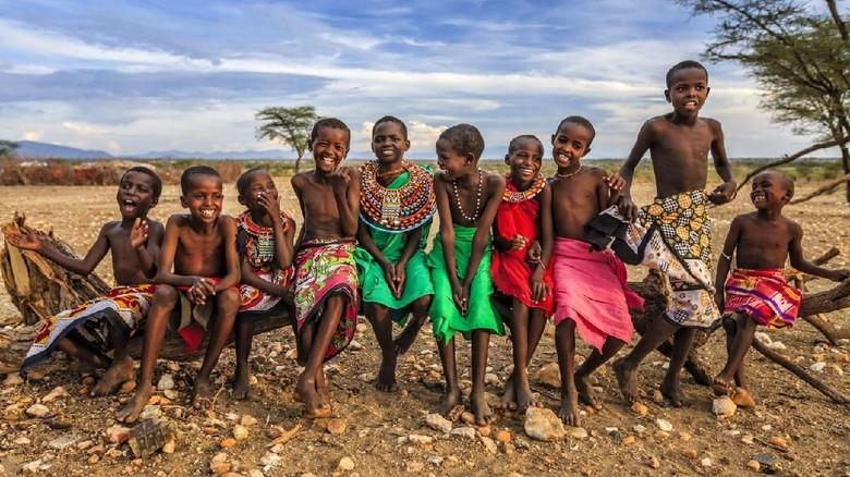 Ilustrasi penduduk Afrika (iStock)