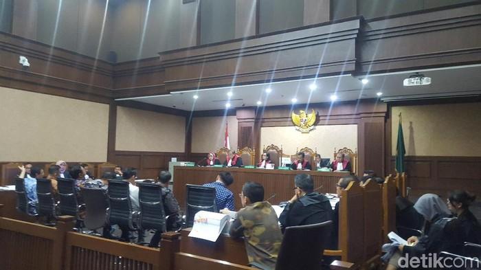 Suasana persidangan di Pengadilan Tipikor Jakarta (Foto: Zunita Amalia Putri/detikcom)