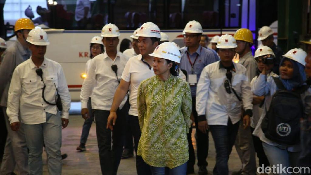 Blast Furnace Beroperasi, Rini Pede Krakatau Steel Sehat di 2020
