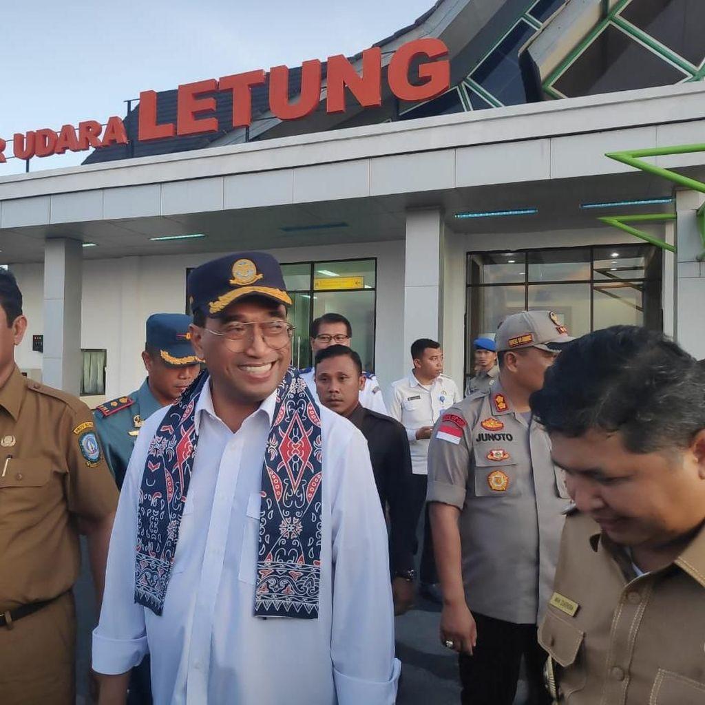 Bandara Anambas Diresmikan Jadi Bukti Pembangunan Indonesia Sentris