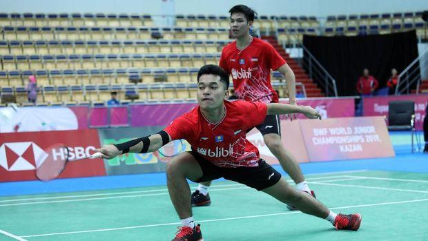 Leo/Daniel Hadapi Mitos Tren Buruk Juara Dunia Junior