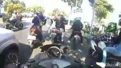 Ini Identitas Biker dan Pengemudi Mobil yang Ricuh di Batu Hingga Viral