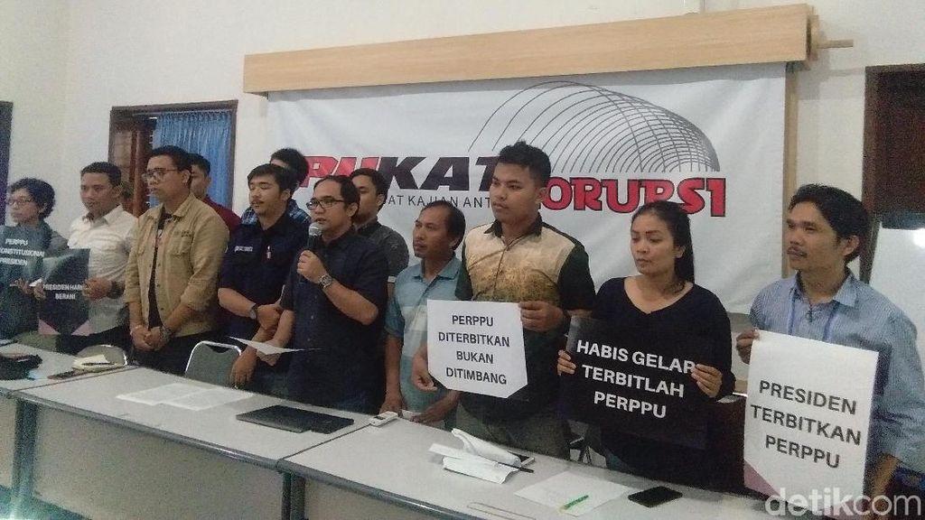 Aktivis Yogya Tagih Janji Jokowi Akan Menerbitkan Perppu KPK
