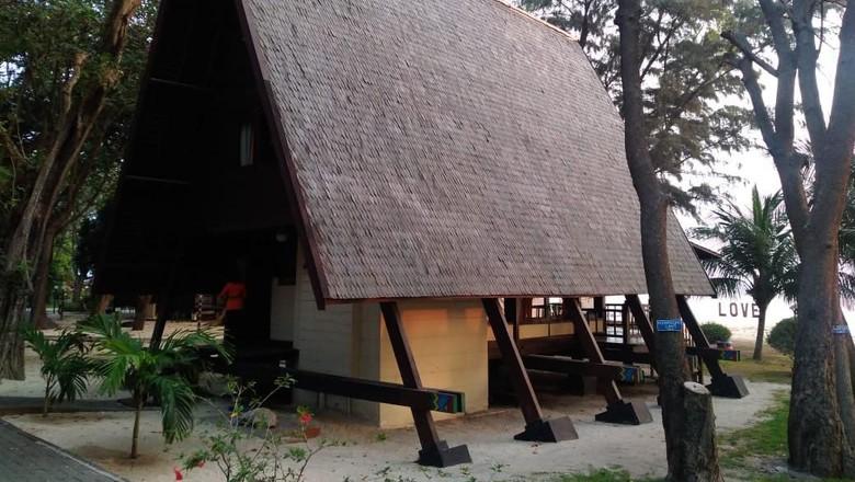 Kamar Soekarno di Pulau Ayer, Kepulauan Seribu (dok Pulau Ayer)