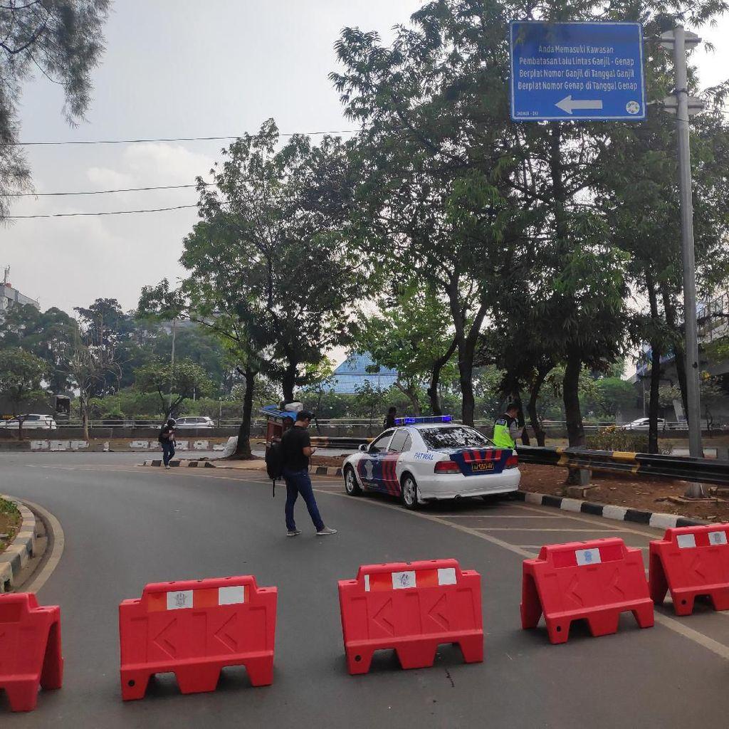 Belum Terima Pemberitahuan Demo, 5 Ribu Personel Polisi Disiagakan di DPR