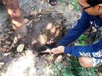 Heboh Asap Panas Keluar dari Tanah di Jombang, Ternyata...