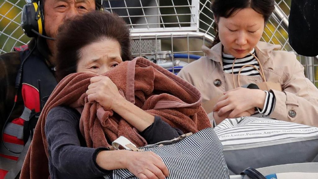 Tolak 2 Gelandangan Saat Topan Hagibis, Kamp Evakuasi di Tokyo Dikecam