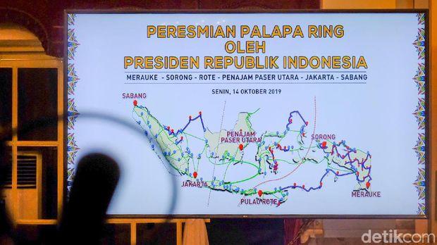 Palapa Ring Beroperasi, Jokowi Minta Pejabat Hati-hati Jaga Data Konsumen