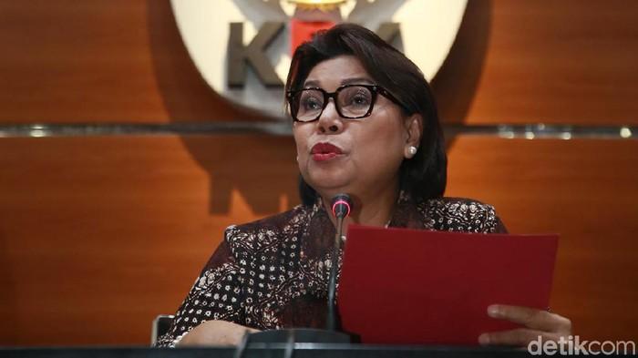 Wakil Ketua KPK Basaria Pandjaitan (Ari Saputra/detikcom)