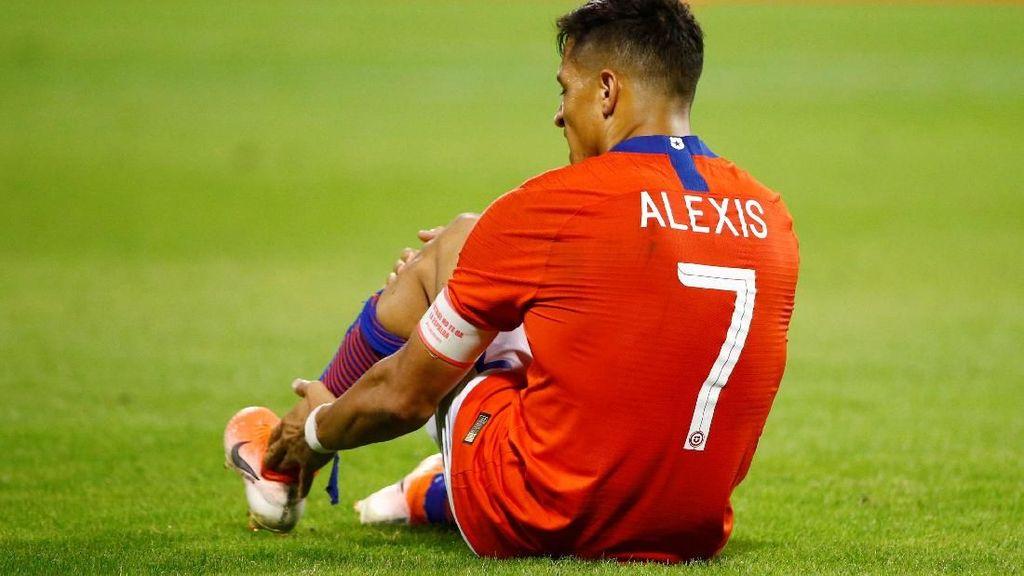 Cedera bersama Timnas Chile, Alexis Sanchez Dipulangkan ke Inter