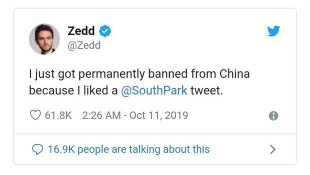 Kicauan Zedd