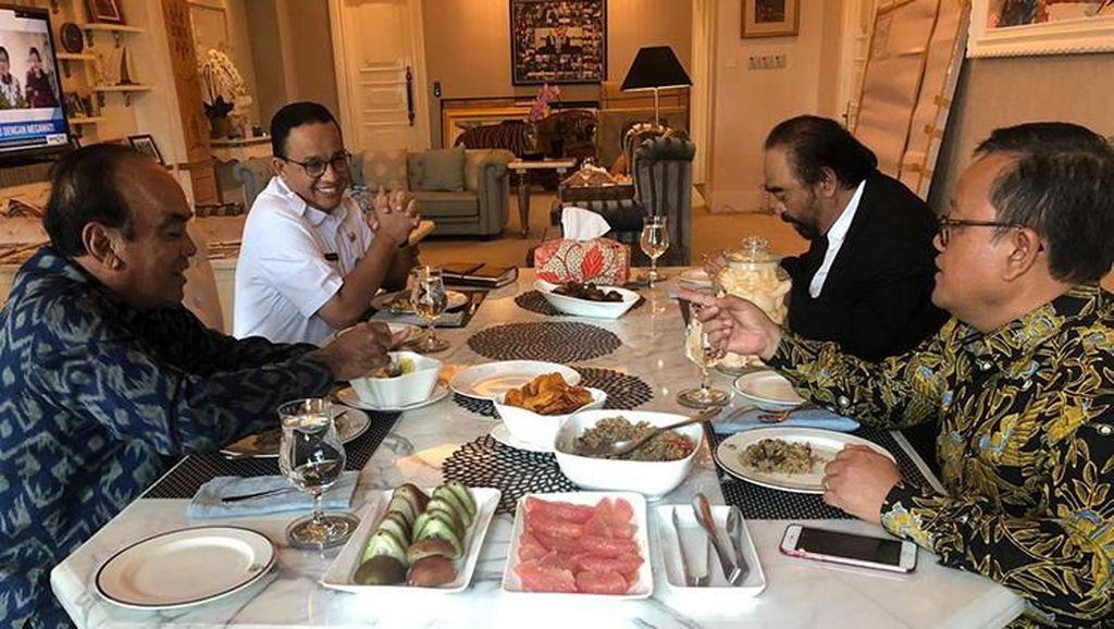 Menu Pilihan Surya Paloh Saat Menjamu Prabowo dan Anies Baswedan