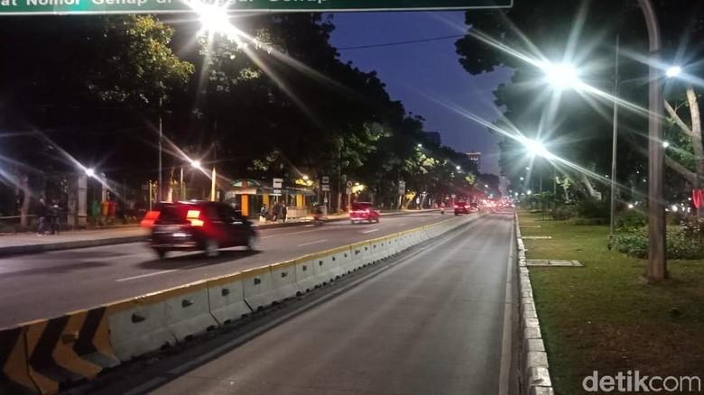 Tak Ada Aksi Demo, Lalin di Sekitar Istana Kembali Dibuka