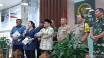 DPR Gelar Rapat Bersama TNI-Polri, Bahas Pengamanan Pelantikan Presiden