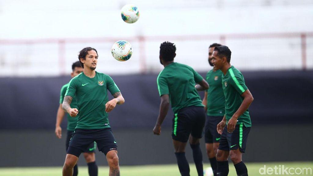 Intip Sesi latihan Timnas Indonesia Jelang Laga dengan Vietnam