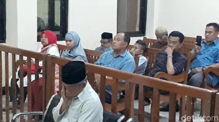 Sidang pleidoi Nurul Qomar di PN Brebes. (Imam Suripto/detikcom)
