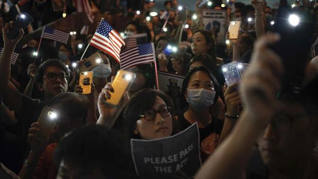 Terbitkan UU Hong Kong, China Ancam Hancurkan Kepentingan AS