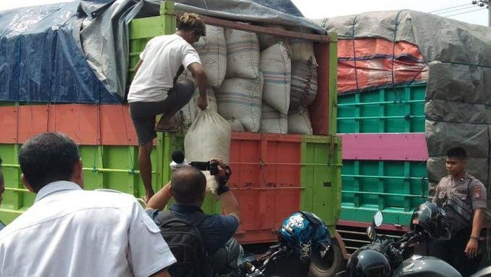 5 fakta daun kratom yang harus diketahui. Foto: Polisi sita truk yang bawa 12 ton daun kratom di Palangka Raya (Antara Foto)