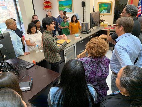 20 Pelajar Chicago Tepikat Belajar Membuat Tempe