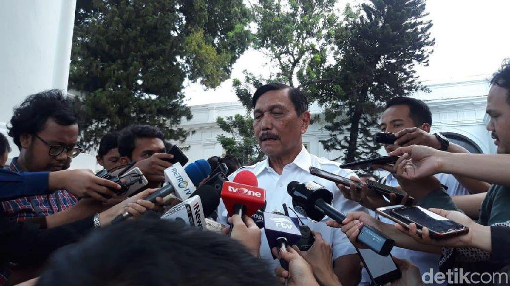 Sejam Bertemu Jokowi, Luhut Bakal Jadi Menteri Lagi?