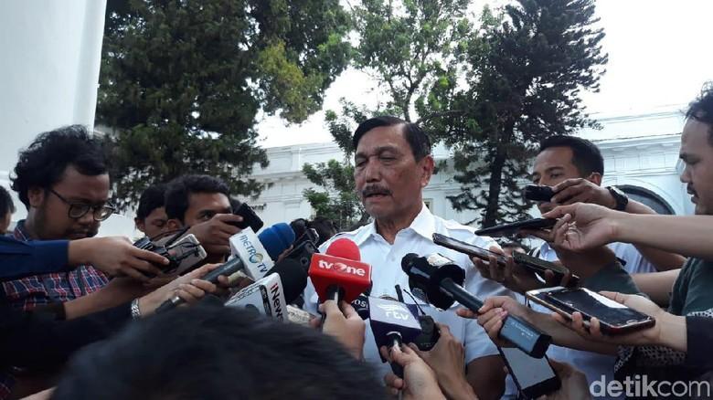 Luhut soal Gerindra Merapat ke Koalisi Jokowi: Apa Saja Bisa Terjadi