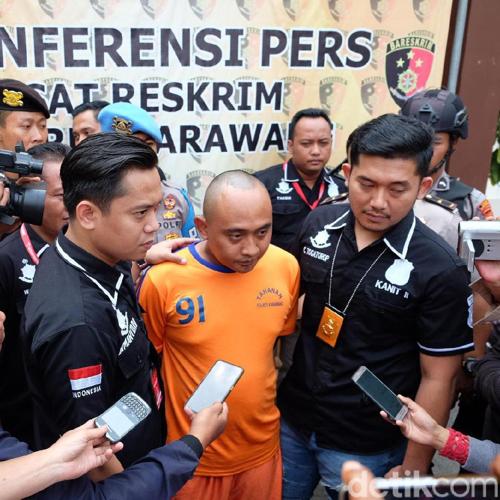 Pembunuh Wanita Bugil di Karawang Ditangkap