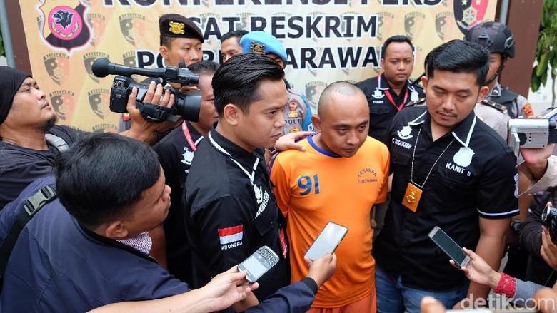 Emen, Pembunuh PSK Online di Karawang Terancam 15 Tahun Penjara