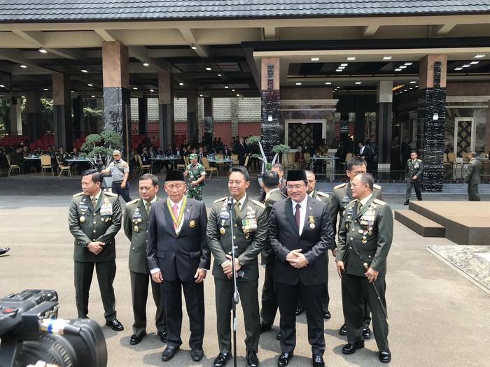 KSAD Jenderal Andika Perkasa di Mabes TNI AD (Foto: Rolando/detikcom)