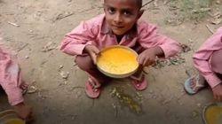 Kisah Miris Anak-anak di India yang Hanya Makan Nasi dan Kuah Kunyit