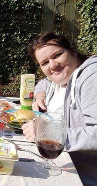 Penampilan Gemma sebelum diet dengan bobot 108 kg