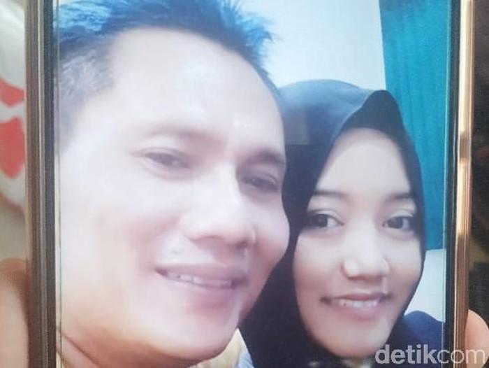 Suami pembaar istri di Surabaya/(Foto: Titania Dewanti)