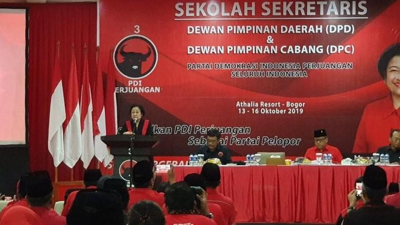 Megawati: Urus Parpol Tak Gampang, Sekretaris Harus Bisa Jaga Rahasia Partai