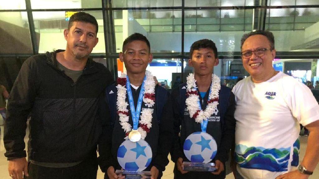 Indonesia Finis Keempat di Danone Nations Cup 2019
