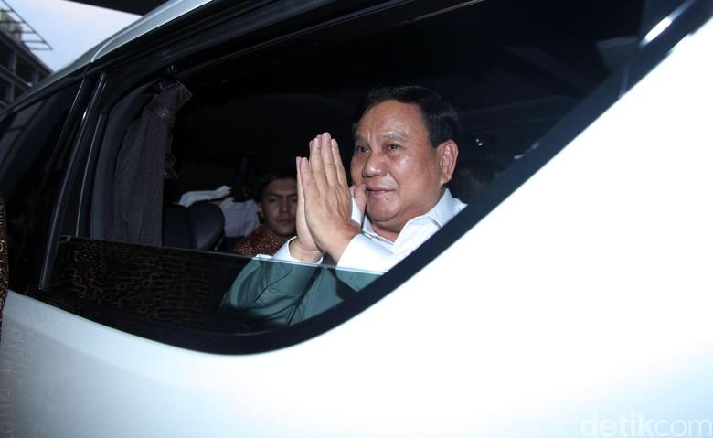 Prabowo Subianto. Foto: Lamhot Aritonang