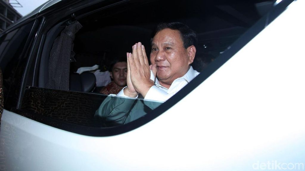 Prabowo Subianto Lebih Suka SUV Ketimbang MPV