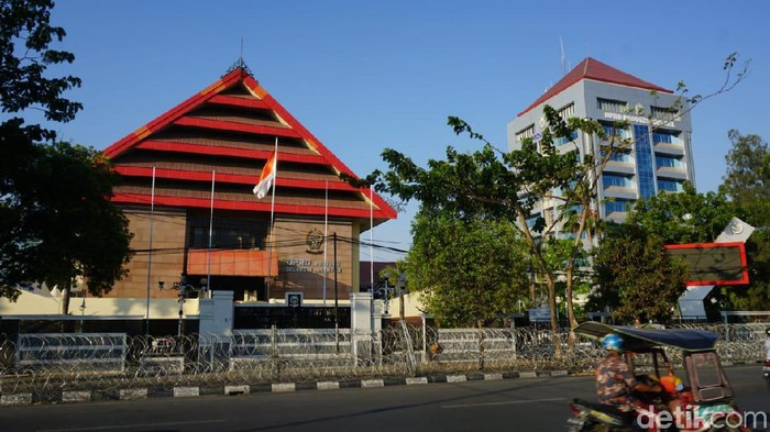 Gedung DPRD Sulsel/Foto: Noval Dhwinuari Antony-detikcom
