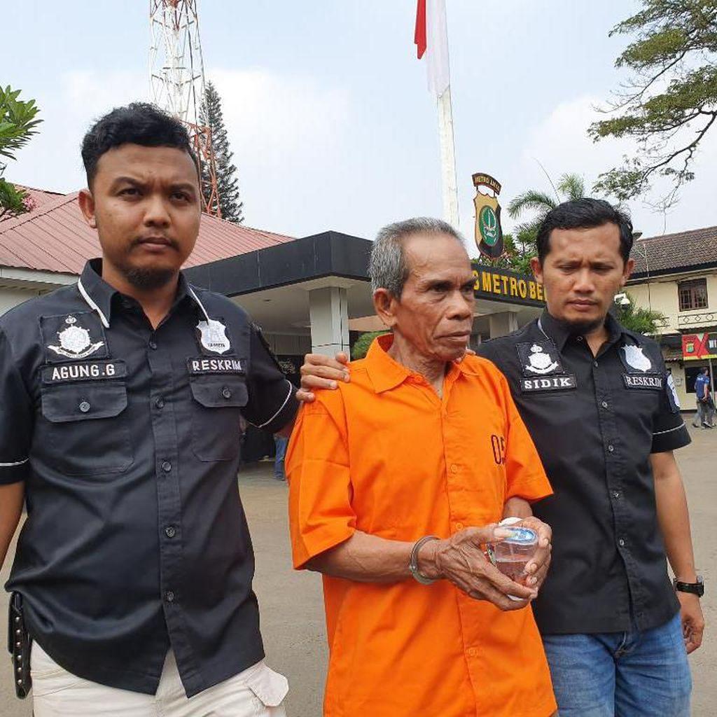 Pria Diduga Stres yang Tusuk Zukri Ditahan Polisi