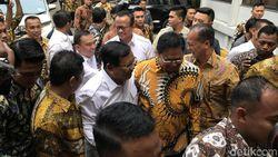 Prabowo Temui Airlangga di DPP Golkar